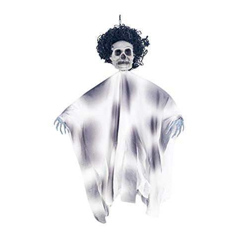 Unionm Halloween Toys, Halloween Props, Ghost Skull Hanging Pendant DIY Decoration Toys Haunted House Decoration for Home Yard Outdoor Indoor Party Bar (Popular)