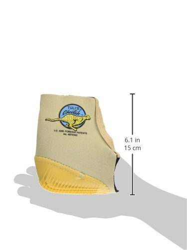 Tuli's Cheetah Heel Protector - Fitted Ankle Support for Gymnasts and Dancers - Small (7.5'' - 8.5'') by Tuli's (Image #6)