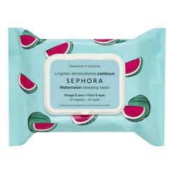 SEPHORA Collection paños para eliminar de maquillaje y exfoliante Sandía: Amazon.es: Belleza