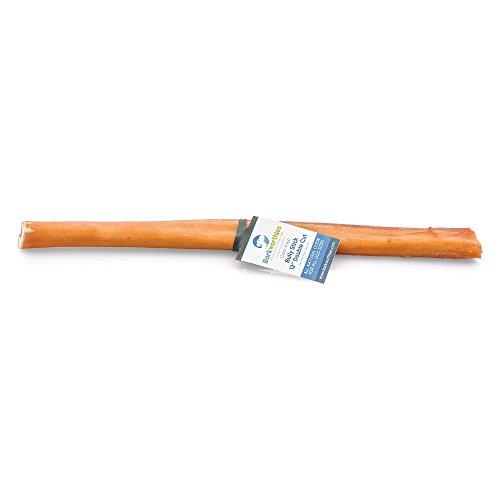 Barkworthies Double Cut Bully Stick Treat, 12