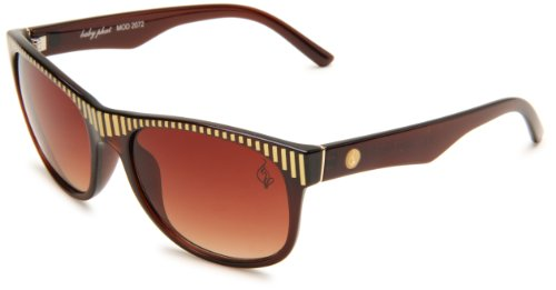 baby phat B2072SBWN0058 Butterfly Sunglasses,Brown Frame/Brown Gradient Lens,One - Phat Sunglasses Baby