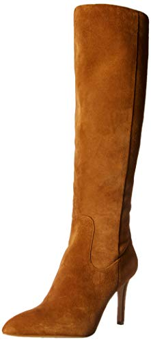 Sam Edelman Women's Olencia Knee High Boot Luggage Suede