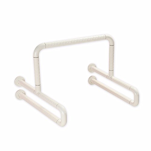 MDRW-Safety Handrail Urinal Handrails Disabled Handrails Toilet Bathroom Barrier Handrails Stainless Steel Safety Anti-Skid Handrails by Olici