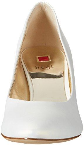 Högl 3-10 6007 0300, Scarpe con Tacco Donna Bianco (Perlweiß0300)