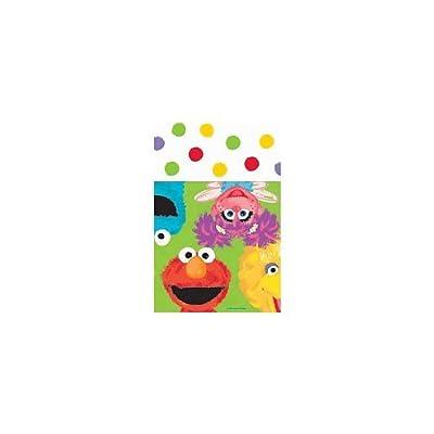 Amscan - Sesame Street 1st Plastic Tablecover - Standard: Toys & Games