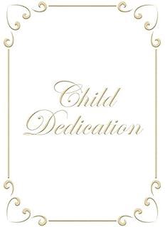 child dedication certificate 5 x 7 folded premium gold foil embossed