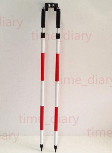 New 2PCS Thumb Release Bipod for Prism Pole Total Stations GPS GNSS Surveying