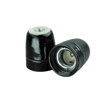 Lightstyl - Douille porcelaine noire E27 - DECL-120 - Tendance Retro ...