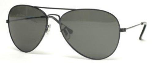 Gravity Shades Classic Black Aviator Tint Len Sunglasses w FREE - Sun Branded Glasses