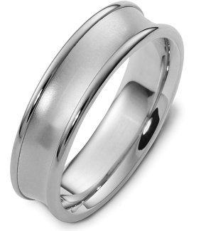 6mm Plain Platinum Wedding Band - 11.25 (Platinum Dora)