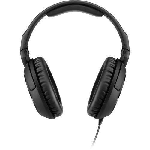 Sennheiser HD 200 PRO Dynamic Stereo Headphones with Slappa Case