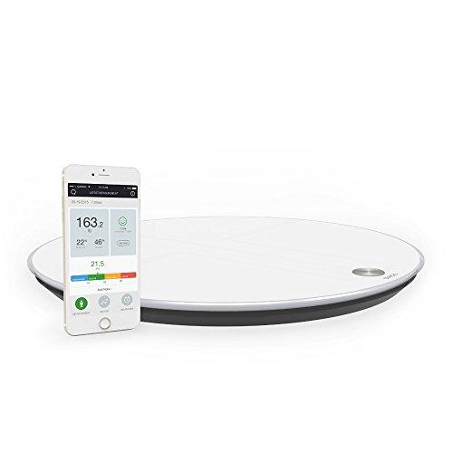 QardioBase Smart Digital Bathroom Scale: Qardio Fitness ...
