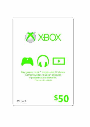Xbox $50 Gift Card