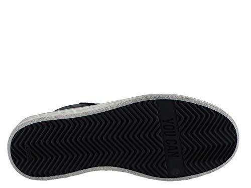 pour Baskets P448 Noir Femme Noir 5fqwBO