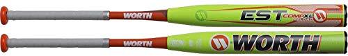 Softball Pitch Est Bat Slow - Worth 2019 EST Comp XL Reload USSSA Slowpitch Softball Bat, 13