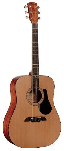 (Alvarez Regent Series RD12 Dreadnought Guitar, Natural/Satin)