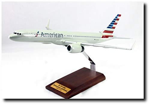 (Planejunkie Aviation Desktop Model - B-757 American Airlines Markings Wood)