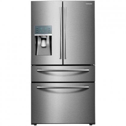 "RF22KREDBSR 36"" Counter Depth French Door Refrigerator with"