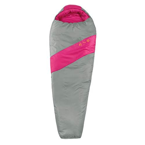 Eureka! Azalea 15-Degree Petite Sleeping Bag, Pink/Grey (3 Pounds 7 Ounces)
