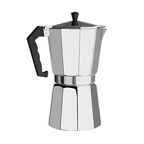 Coffee pot Aluminum Moka Pot Octagon Coffee Pot Moka Coffee Pot 600ml