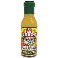 Bragg Organic Ginger and Sesame Dressing, 354 ml, Ginger and Sesame