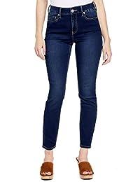 ca83f6105f Guess Factory Women's Tahiana High-Rise Skinny Jeans