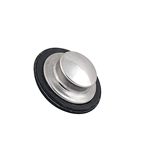 Podoy Insinkerator Stopper Polished Stainless Steel Sink Stopper for Garbage Disposals STP-SS (4 Vessel Sink)