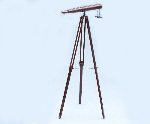Hampton Nautical  Floor Standing Admiral's Antique Copper Binoculars, 62'' by Hampton Nautical (Image #1)
