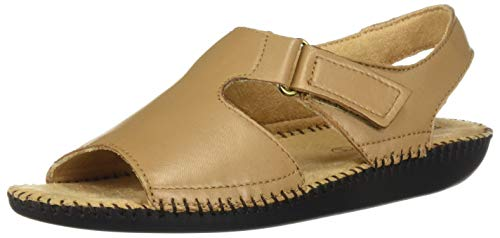 Naturalizer Women's, Scout Low Heel Sandals Biscuit 11 M ()