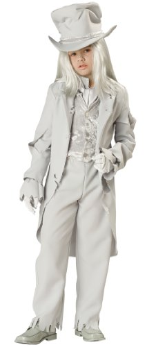 InCharacter Costumes, LLC Big Boys' Ghostly Gent Tattered Coat Set