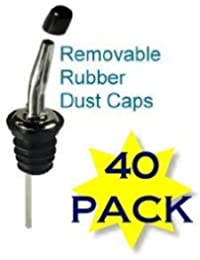 Gain 1 X Small Liquor Bottle Pourer Covers- Bug & Dust Covers. - 40 Per Pack reviews