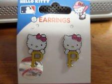 MLB Pittsburgh Pirates Hello Kitty Logo Post ()