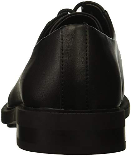 Oxford Carl Smooth Leather Black Men's Klein Calvin Calf Tw7Yq