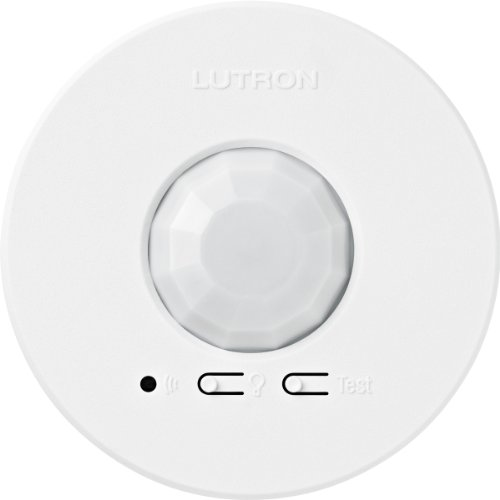 - Lutron LRF2-OCR2B-P-WH Radio Powr Savr Wireless Ceiling-Mounted Occupancy/Vacancy Sensor, White