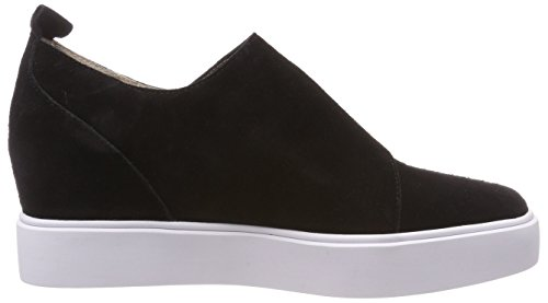 Lisa Nero 110 Studs Donna Sneaker Shoe Nero On Slip rack T8qCPw5