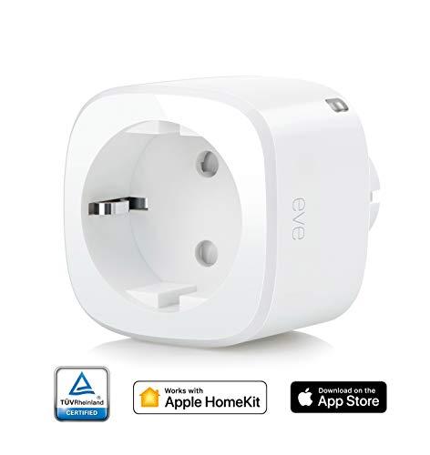 Elgato Eve Energy Kabelloser Stromsensor & Schalter mit Apple...