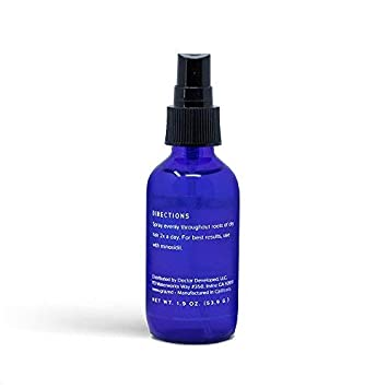 GroMD Follicle Activator Spray, Minimize Thinning Prevent Hair Loss, Doctor-Developed Proprietary Blend of DHT Blockers, Copper Peptides, Saw Palmetto, Caffeine Argan Oil, For Men Women