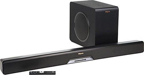 Klipsch - Reference Series 2.1-Channel Soundbar System with 8