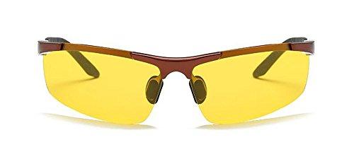 Cadre du retro métallique cercle en inspirées de Cuivre rond lunettes vintage Lennon soleil style en polarisées IOTW1qw