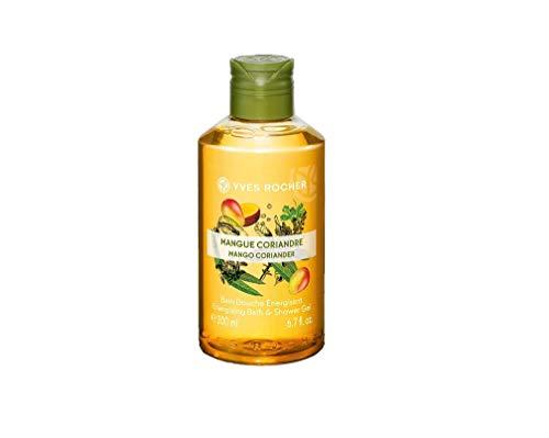 Yves Rocher Les Plaisirs Nature Energizing Bath & Shower Gel - Mango Coriander (6.7 fl.oz.)