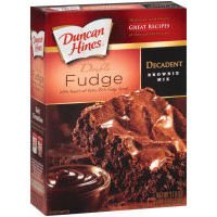 Duncan Hines Chocolate Love's Brownies Double Fudge, 17.6 Ounce (Pack of 12)
