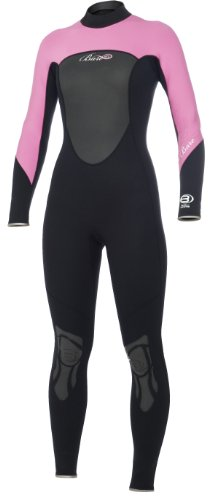 BARE Women's Full Wetsuit (Pink, 14)