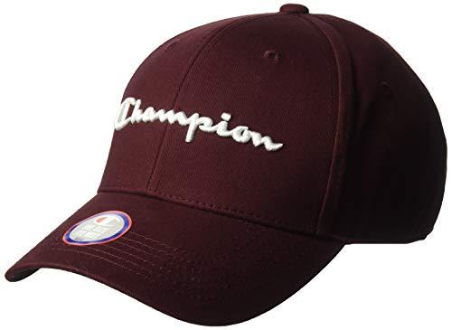Champion LIFE Men's Classic Twill Hat, Maroon, OS (Maroon Classic Hat)