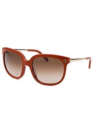 d99bf5cf996 Amazon.com  Chloe Women s Square Burnt Orange Sunglasses  Clothing