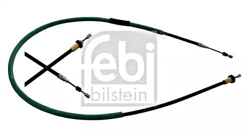 Parking Brake Cable Right Rear FEBI For RENAULT Clio Grandtour 8200673259