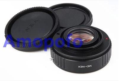 Amopofo Focal Reducer Speed Booster Adapter Minolta MD Mount Lens to Olympus Micro 4//3 GH4 OM-D Adapter