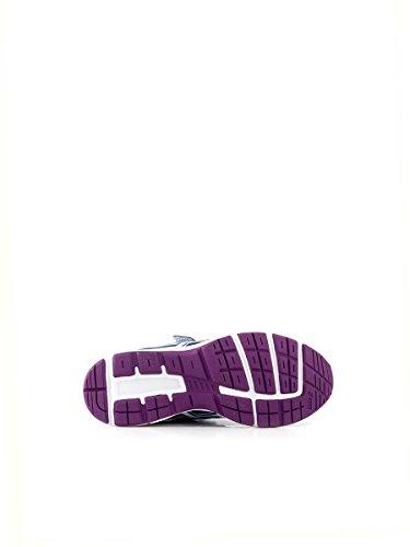 Asics ,  Jungen Sneaker  SOFT BLUE/WHITE/PURPLE 1,5 USA  /  33 EUR
