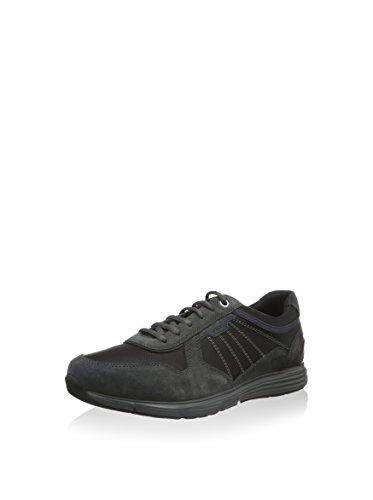 Calzado deportivo para hombre, color gris , marca GEOX, modelo Calzado Deportivo Para Hombre GEOX UOMO DYNAMIC Gris Gris Oscuro