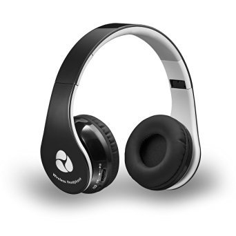 Firegram (TM) Bluetooth 4.0 Stero Headphones On-Ear Wireless Headsets for iPhone, iPad, iPod, Android Smartphones,Computers