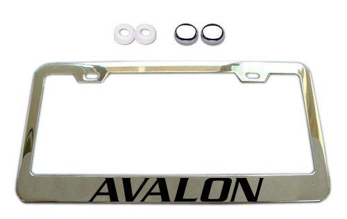 license plate frame avalon - 3